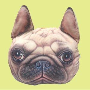 XDOLLS | 3D Pug Face Pillow